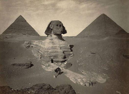 gizeh pyramids ans sphinx long time before