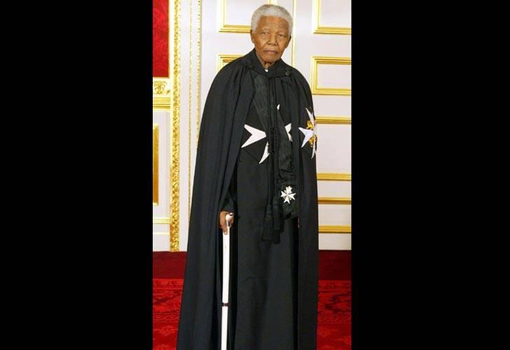 mandela knight of malta