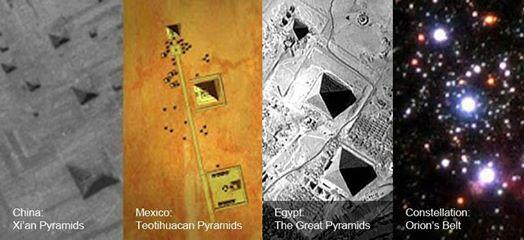 Pyramids - alignment with Orion constalation