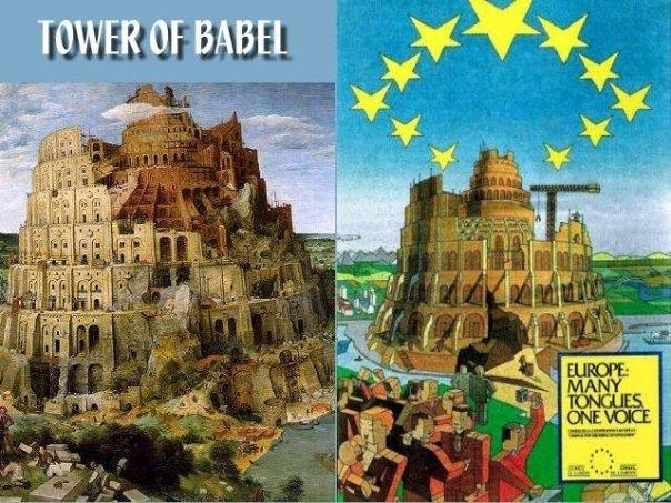 tower of babel - europeean parlement