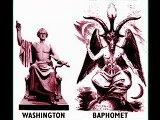 wahsinton and baphomet same posture