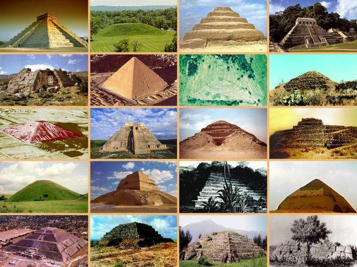 Pyramids Obelisks All Over The World