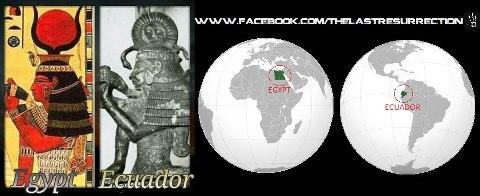 Artefact of pharaoh in Ecuador !