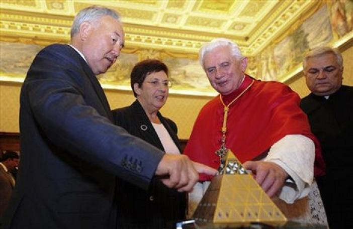 Pope and Astana, Khazakhstan