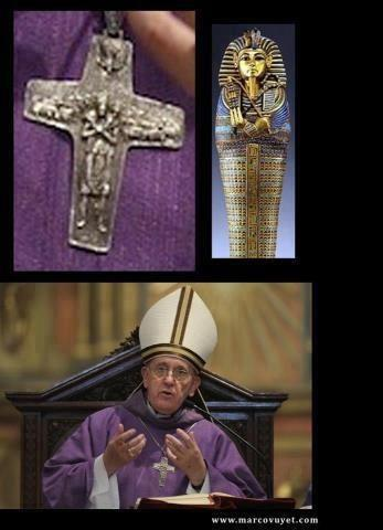 pope and pharao symbol