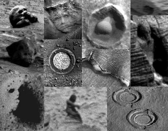 Mars structure & artefacts