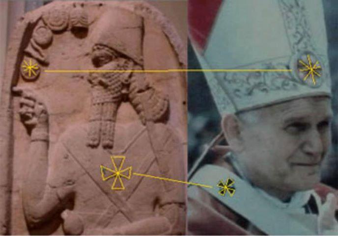 pope and babylonian connexion