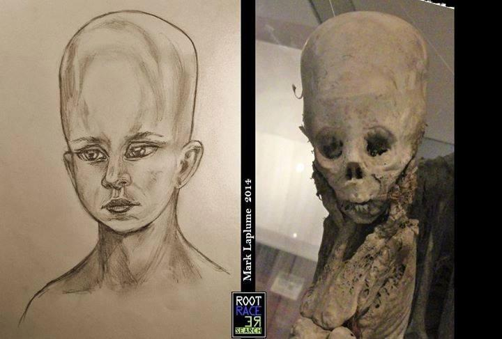 ELONGATED SKULL-BABY-CHIL- PARACAS-05