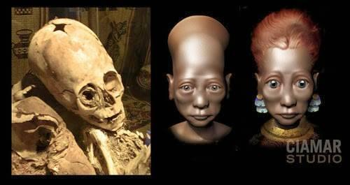 ELONGATED SKULL-BABY-CHIL- PARACAS-06
