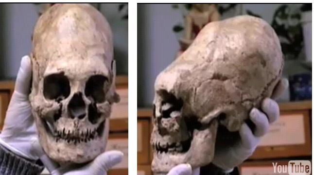 Elongated skulls discovered in 2009 Russia