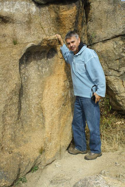 Giant Foot Print 200 Million Yrs Old - South Africa-02