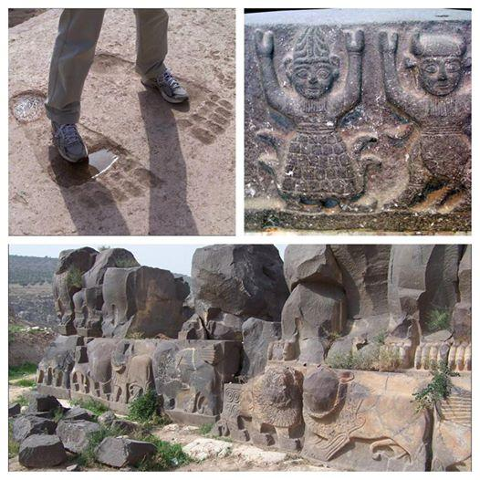 giants foot steps in Ain Dara temple Syria-01