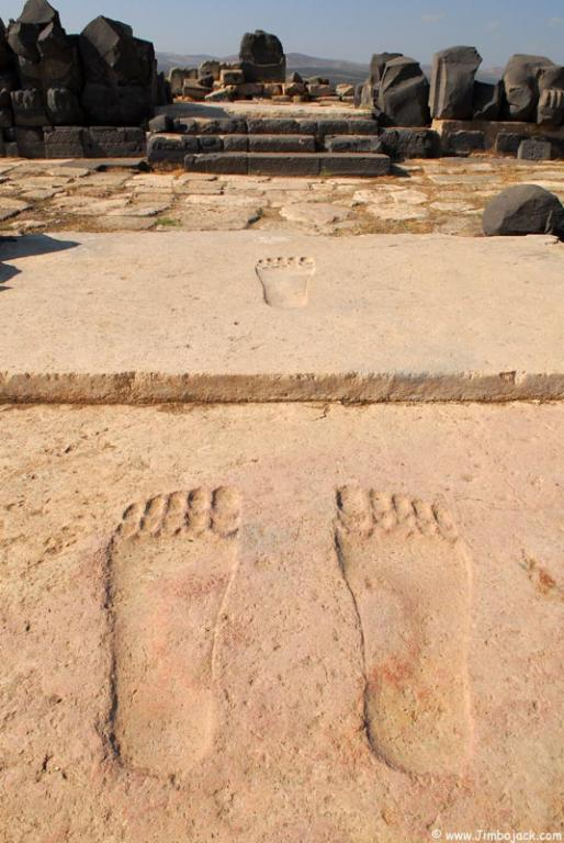 giants foot steps in Ain Dara temple Syria-02