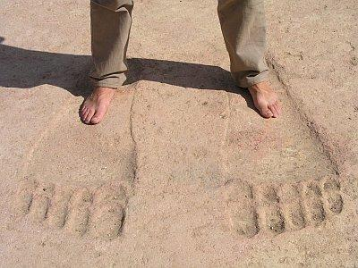 giants foot steps in Ain Dara temple Syria-04