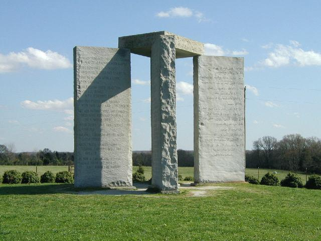 Georgia Guidestones 01