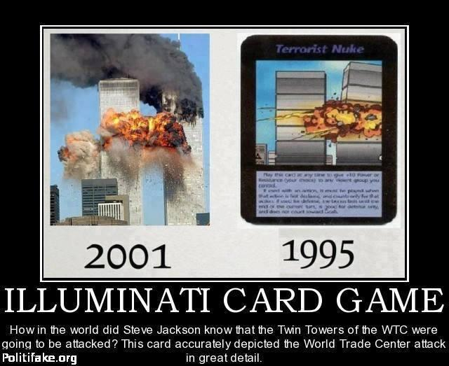 illuminati game card from 1995-02