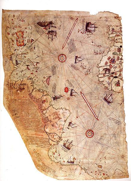 Piri reis-world map-year 1513
