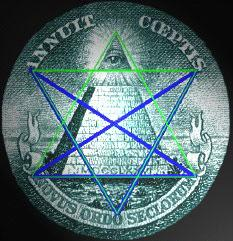pentagram dollar bill
