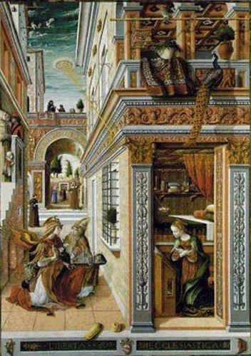 The Annunciation-painted in 1486-england