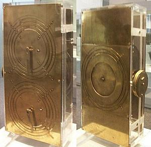 The Antikythera mechanism- a Greek ancient computer reproduction 02