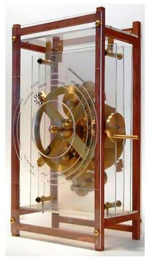 The Antikythera mechanism- a Greek ancient computer reproduction 03