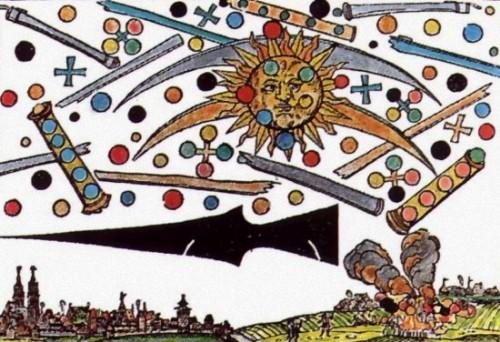 UFO 'battle' over Nuremberg, Germany in 1561